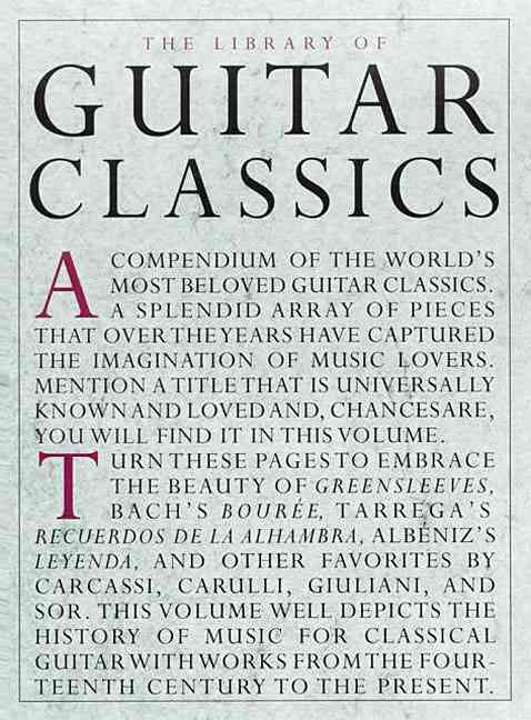 The Library of Guitar Classics By Willard, Jerry